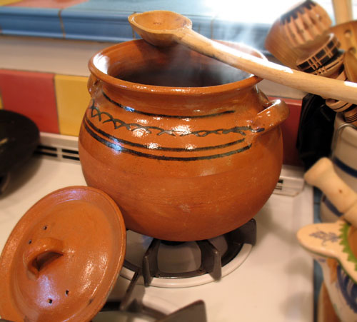 clay pot cooking beans More Cooking With Clay – Experiments in my New World Kitchen and